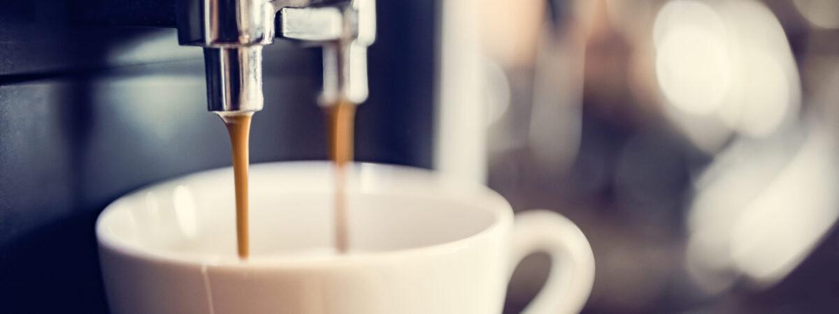 Kaffe som bryggs