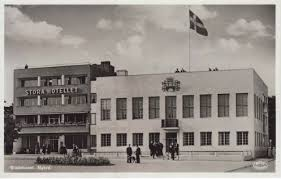 Fasadbild på Nybro Stora Hotellet