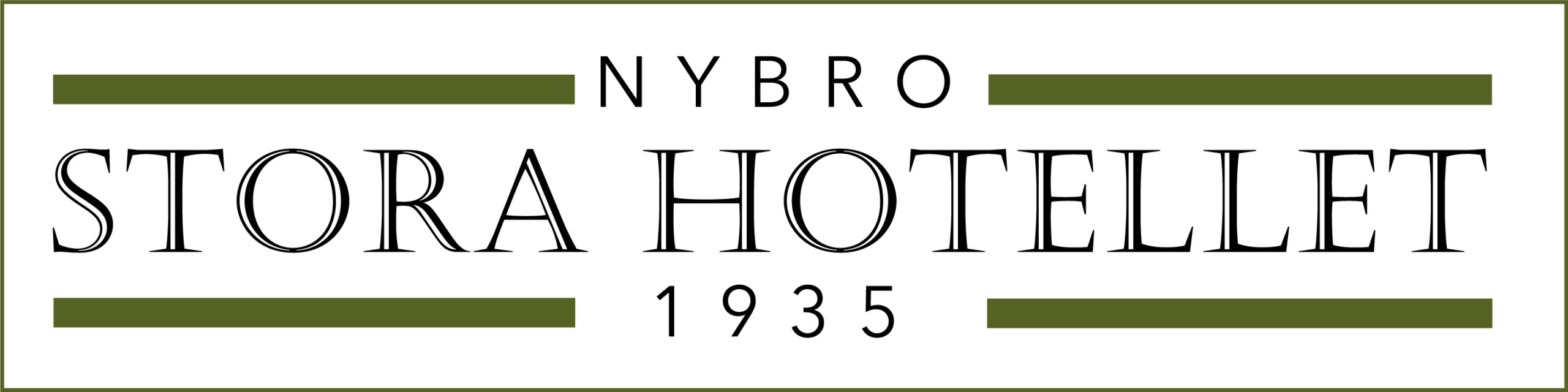 Det lilla Stora Hotellet i Nybro Logotyp